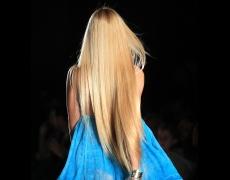 Коса в естествени цветове
