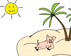 За жегата и свинското
