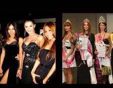 Кои са по-красиви? Финалистките на Мис Фотомодел на България 2013 или тайландските травестити?