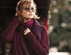Нестандартен, ефектен и лесен начин да носим шал (видео)