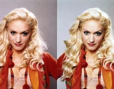 Снимките на звездите преди и след обработката с Фотошоп