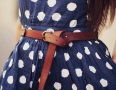 Няколко идеи как да носите колана си