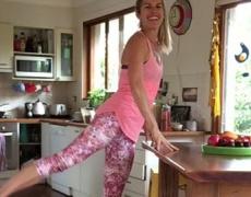 Тренировката, която може да правите в кухнята
