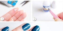 Хитър трик за поправяне на счупените нокти