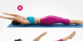 9 пилатес упражнения за плосък корем