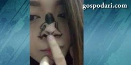 Туъркинг с нос на песен на Риана