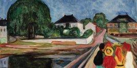 """""""Момичетата на моста"""" на Едвард Мунк получи оферта от 54 милиона долара в Сотбис"""
