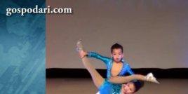 Деца покоряват публиката с огнен танц