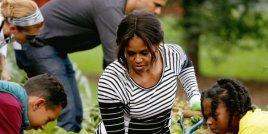 Зеленчуковата градина на Мишел Обама