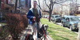 Мъж посвещава живота си на осиновяването на стари кучета, които не могат да намерят приемен дом в края на живота си
