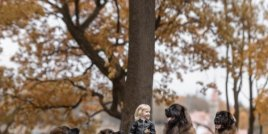 Невероятни снимки на малки деца с големи кучета!