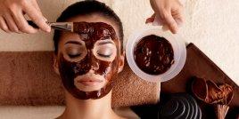 Маска за лице с шоколад и морска сол