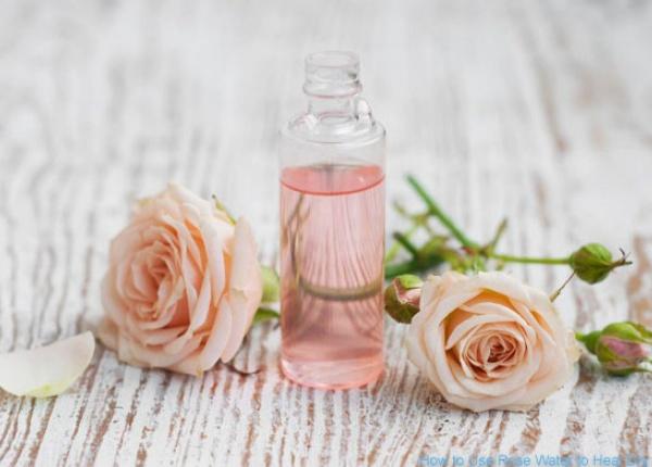 Полезните свойства на розовата вода