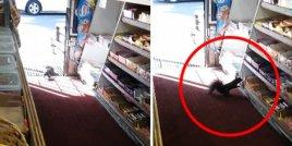 Хранителен магазин бива ограбван системно.