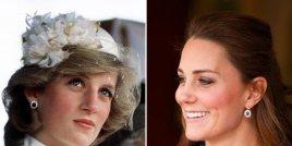 Поглед към зашеметяващите бижута, които Кейт Мидълтън наследява от принцеса Даяна