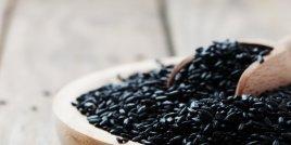 Полезните свойства на черния ориз