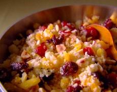 Рецепта за кускус с грозде и орехи
