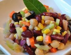 Рецепта за есенна салата. Шарена!