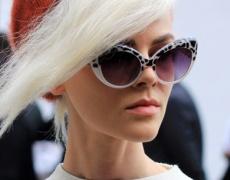 Тенденции при косите 2013: Платинени блондинки