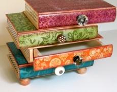 Как да си направите кутия за бижута от стара книга? (видео)