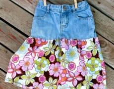 Как да си направите пола от стари дънки? (видео)