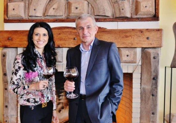 За виното с любов...