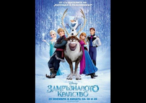 """""""Замръзналото кралство"""" - една завладяваща анимация"""