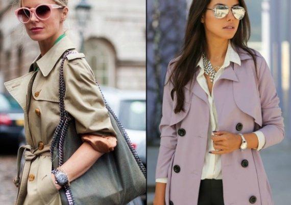 С какво да комбинираш класически шлифер?
