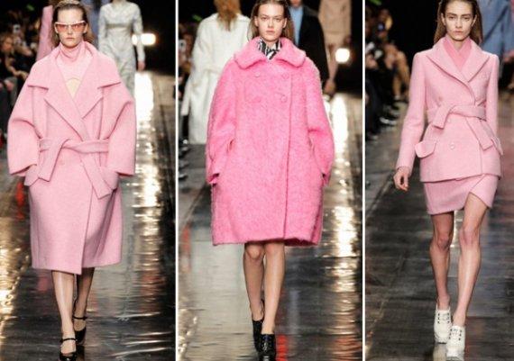 Розови палта за зимата! Супер модерни са