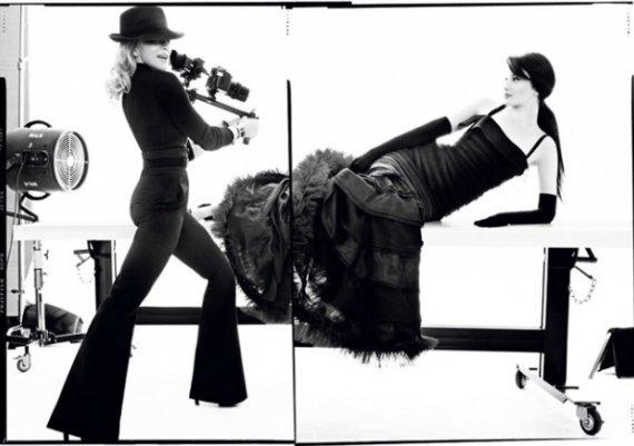Мадона в арт фотосесия за Harper's Bazaar