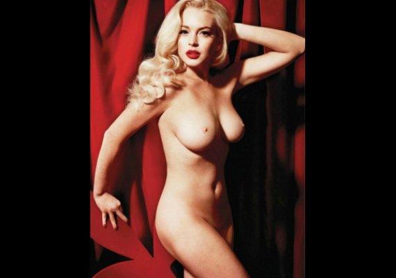 Линдзи голичка за Playboy (снимки)