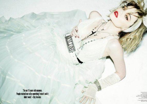 Мадона, както не изглеждаше на 19 (снимки)