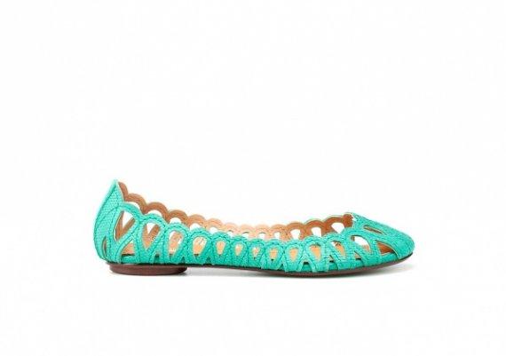 Обувки 2012: Най-модерните балетни пантофки