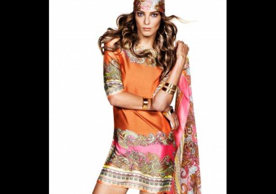 Топ тенденция: рокля от шал