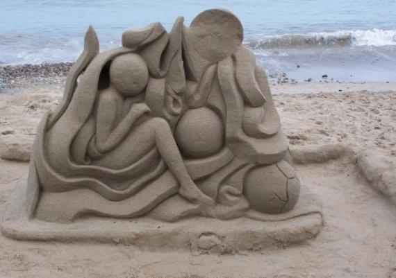 Арт терапия с пясъчни фигури