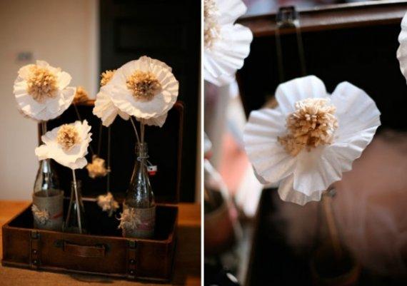 Как да си направим цветя от филтри за кафе?