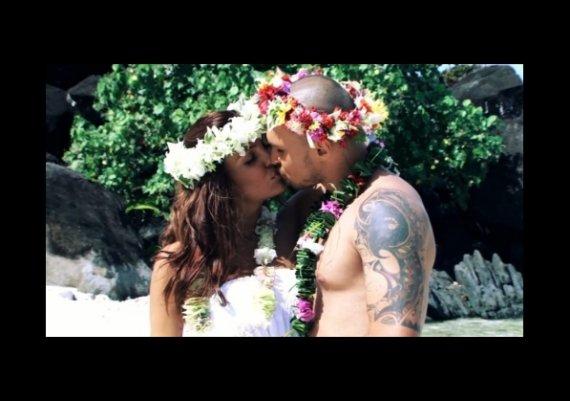 Николета и Валери се венчаха отново на Бора Бора (снимки)