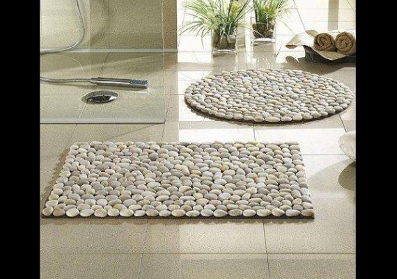 Идея за дома: килимче от камъчета