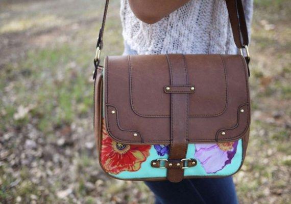 Как да декорираме старата чанта?