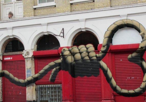 Най-яките графити в Англия!