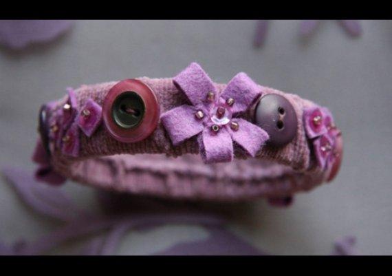 Направи си сама: Страхотна гривна с декорации