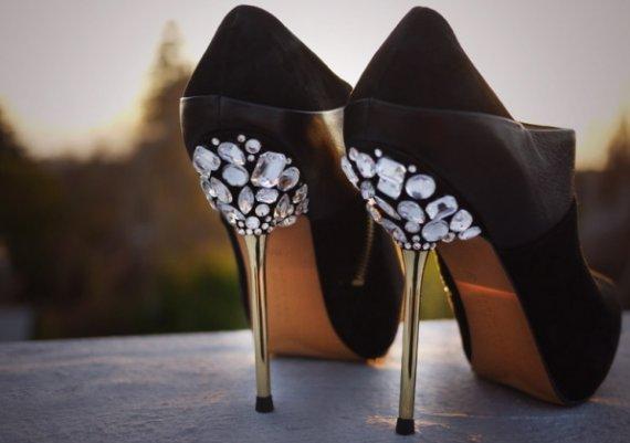 Обувки като на Пепеляшка. Как?