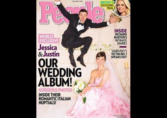 Сватбата на Джъстин и Джесика (снимка)