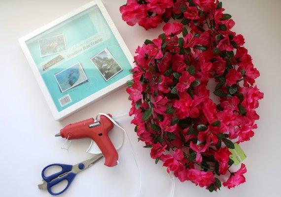 Идея за дома: пано от цветя