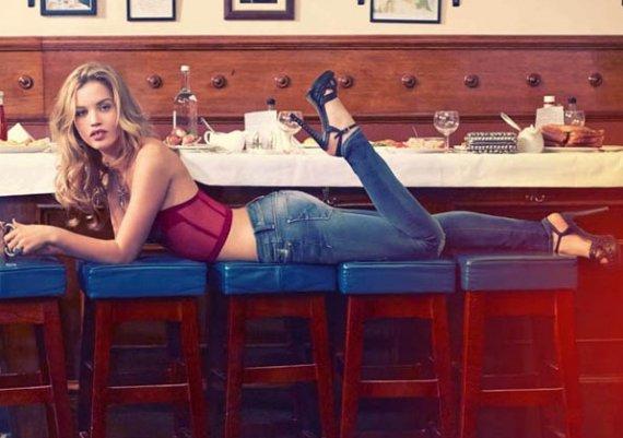 Скини джинси, модерните джинси