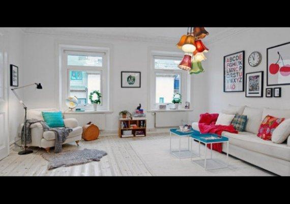 Къща-мечта! С интериор в бяло и цветно