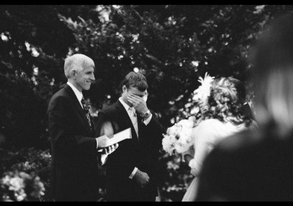 Реакцията на младоженците, когато видят булката (снимки)
