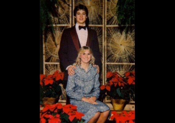 Първата любов на Брад Пит (снимки)