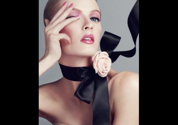 Грим за пролет 2013: Игра на розово и сиво от Dior
