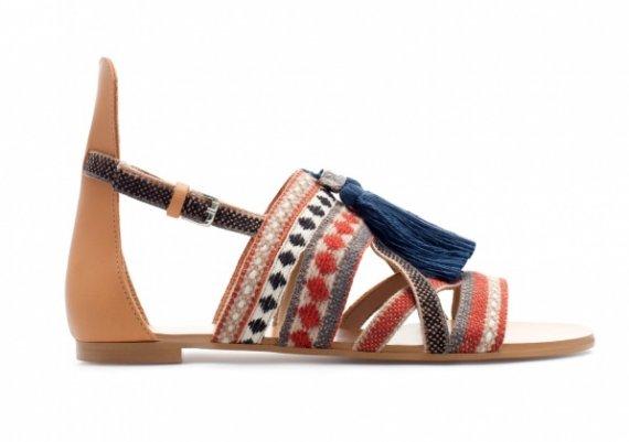 Обувки 2013: С етно мотиви